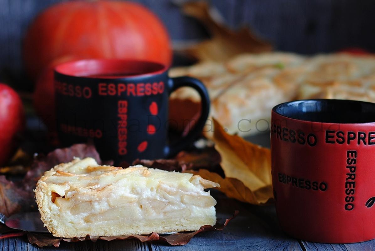 Осень! Время ароматных яблочных пирогов…