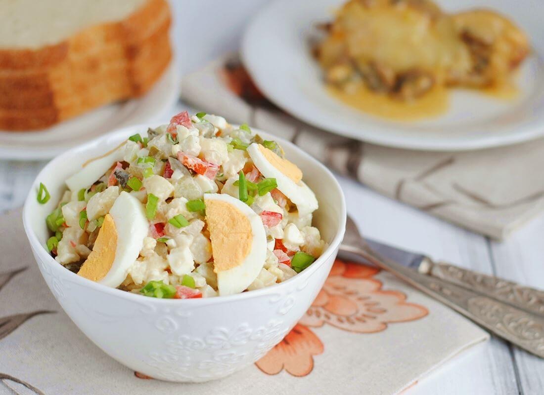 Традиционный американский картофельный салат