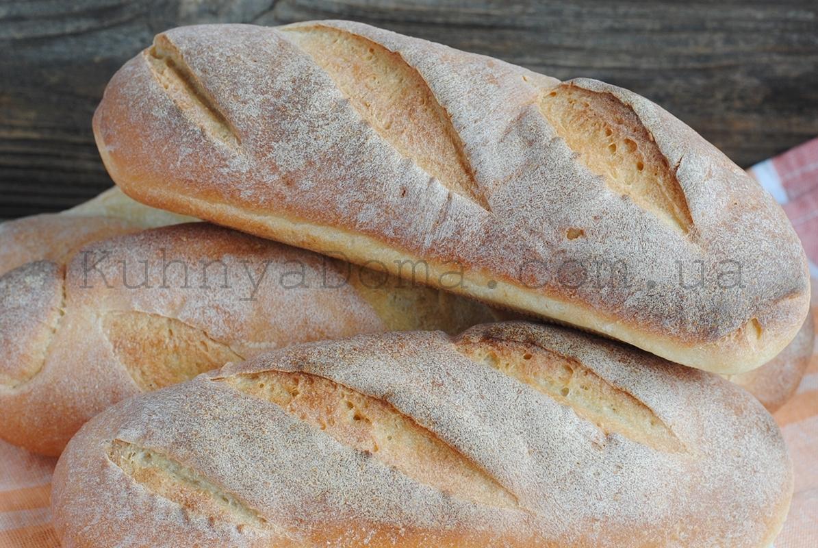 Пшеничные булки на закваске
