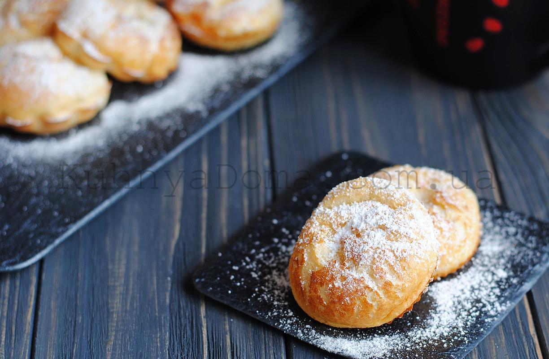 Поповеры (блинные булочки в духовке)