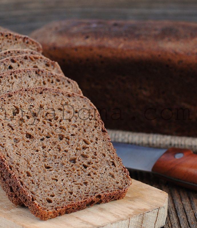 Литовский ржаной хлеб с тмином