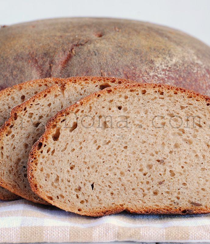 Праздничный заварной хлеб (Šventinė duona)