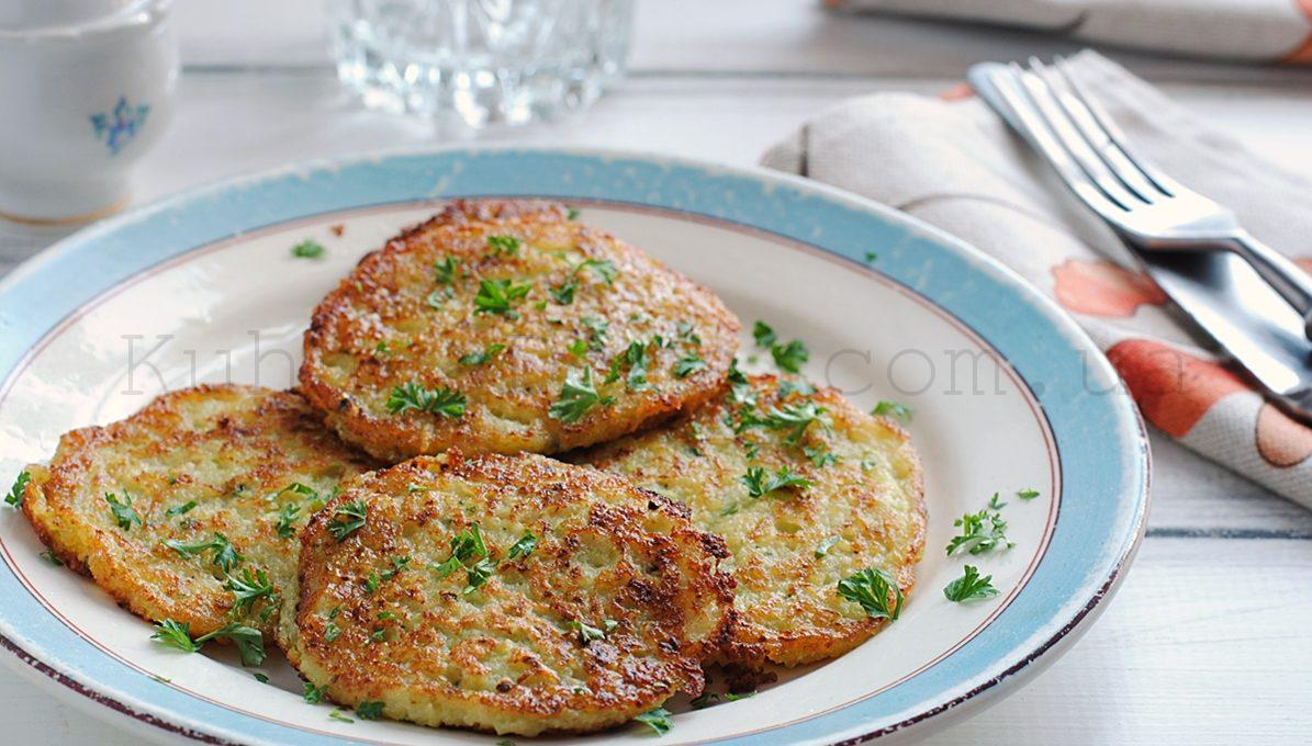 Картофельно-кабачковые латкес