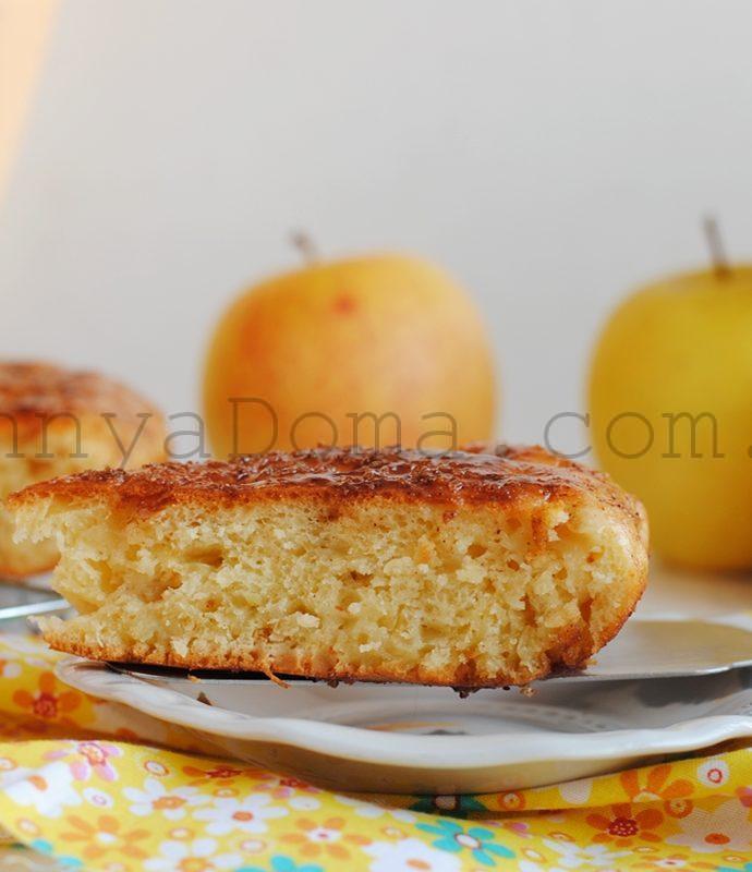 Яблочный пирог с коричной корочкой