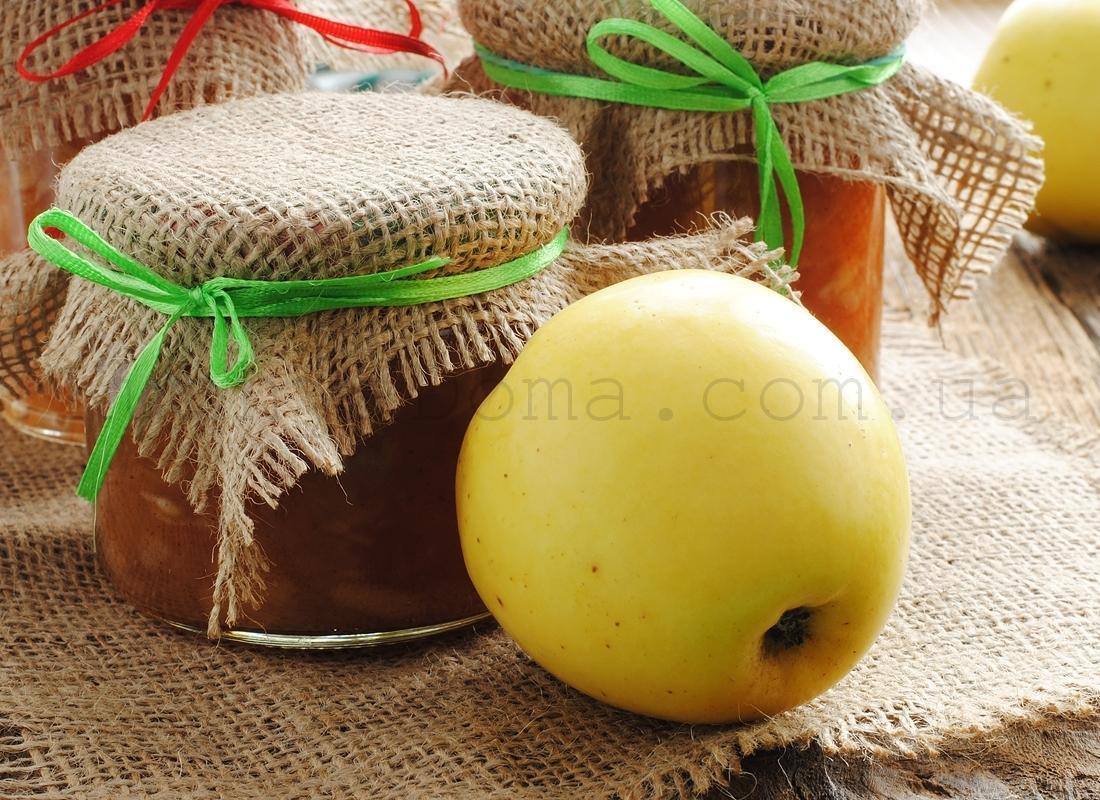 Джем яблочно-лимонный с имбирем