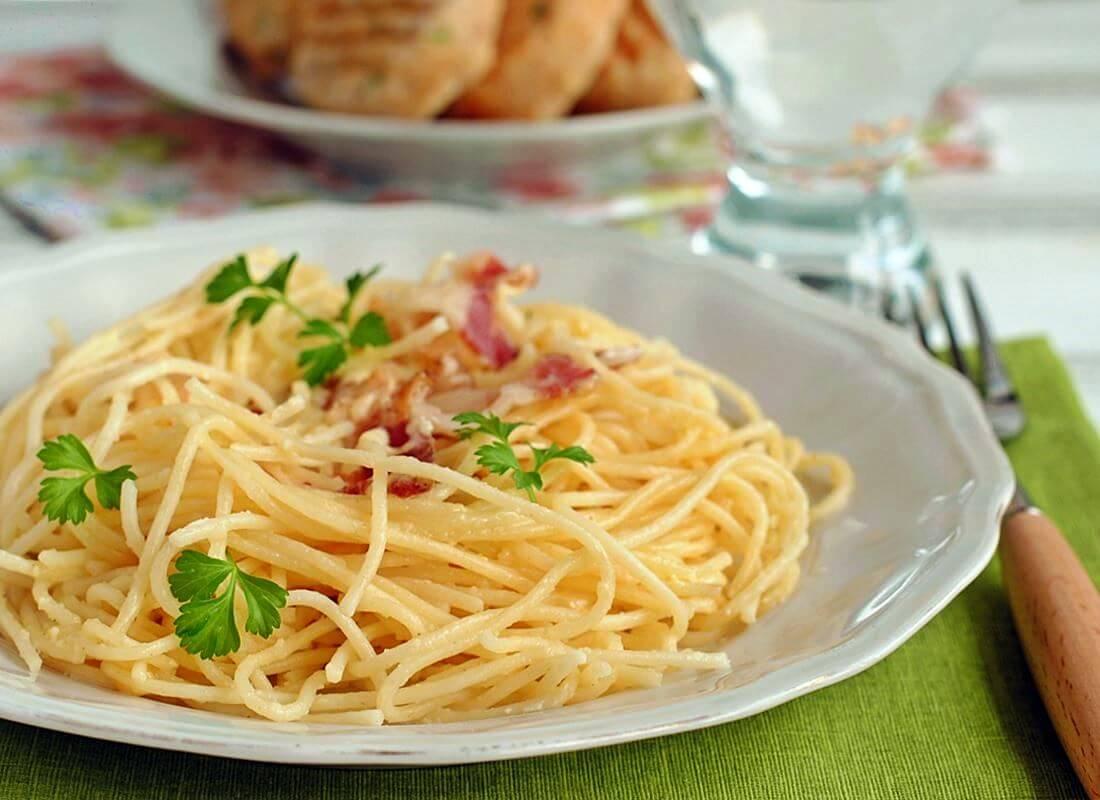 Спагетти Карбонара (Pasta Carbonara)