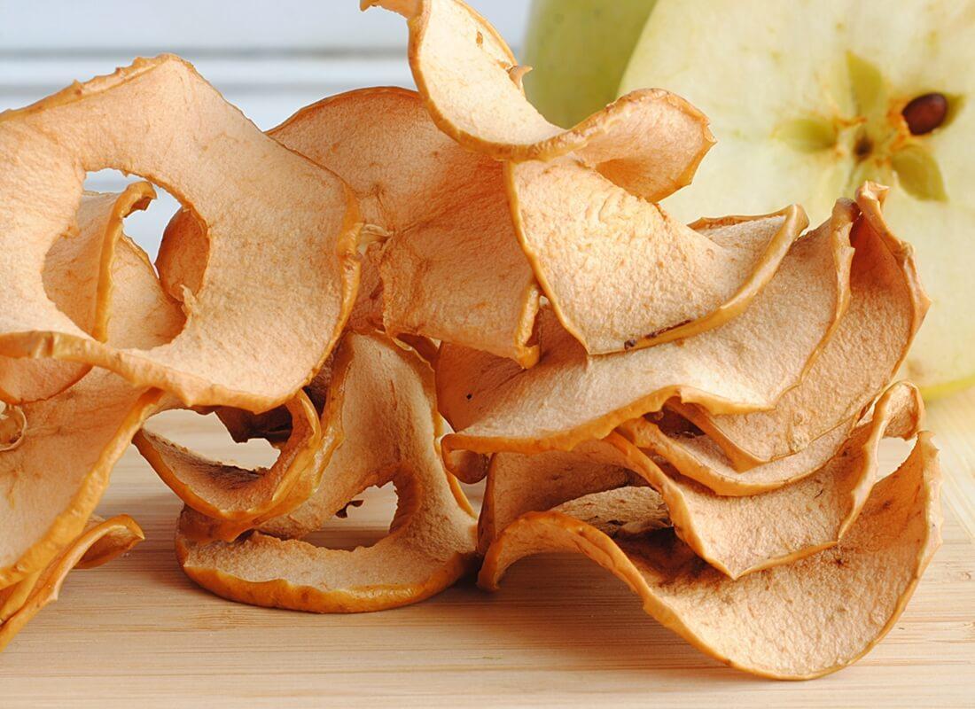 Яблочные чипсы в мультипечи (аэрофритюрнице)