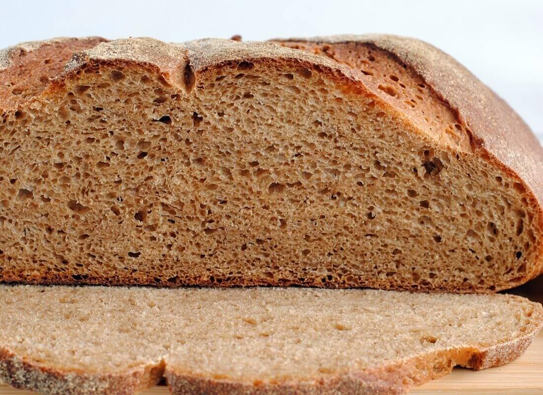 Гречневый хлеб с тмином