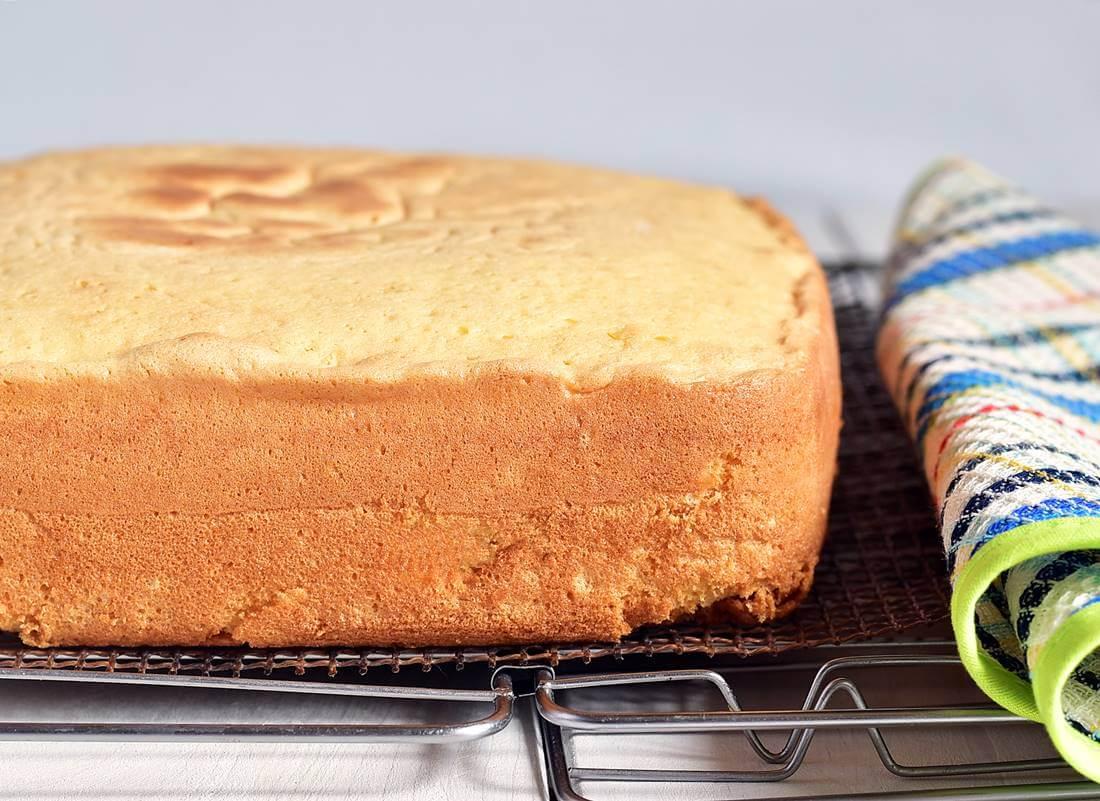 Бисквит на кипятке масляный (Tefal Cake Factory)