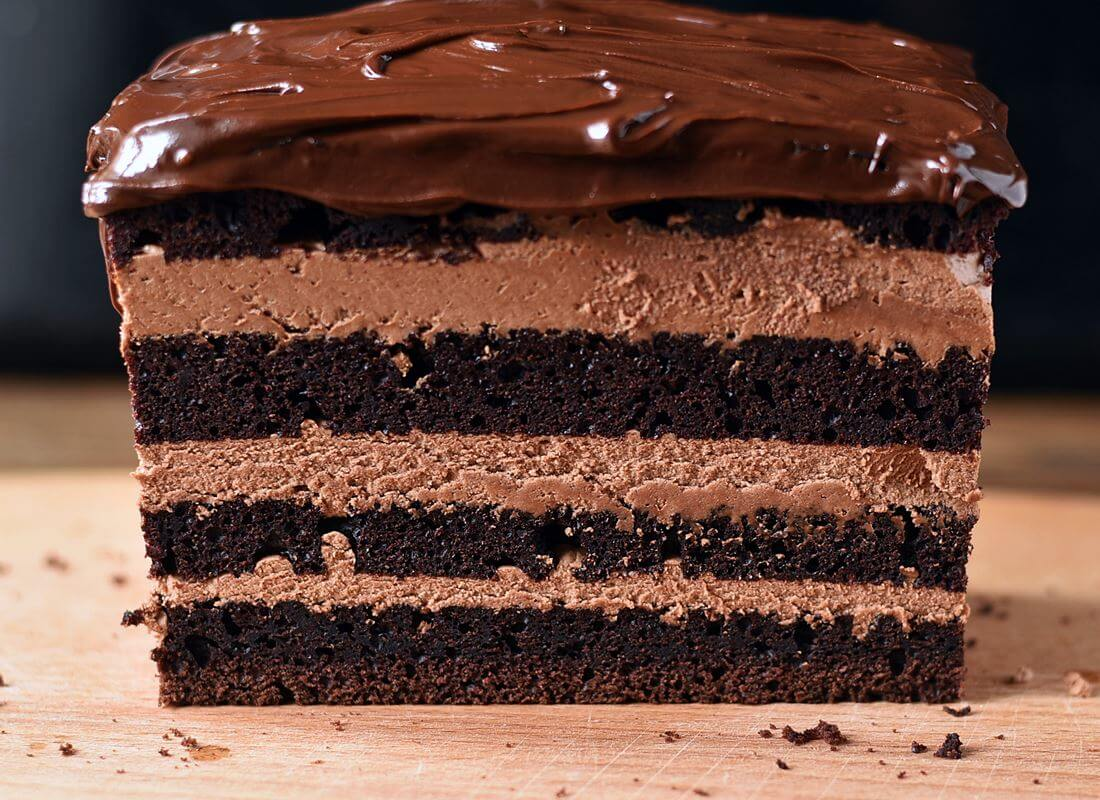 Простой шоколадный бисквит (духовка и Cuckoo1051)