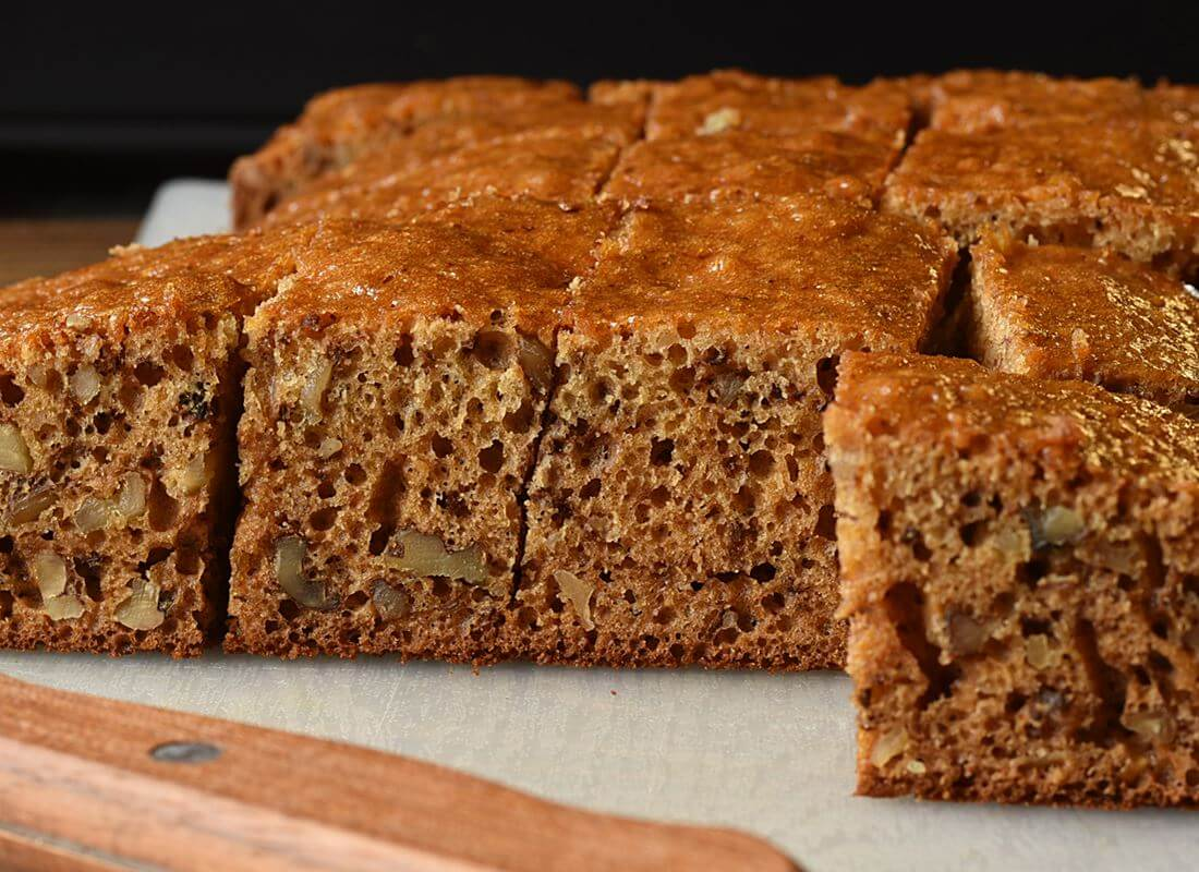 Медовый пирог на кефире (Tefal Cake Factory)