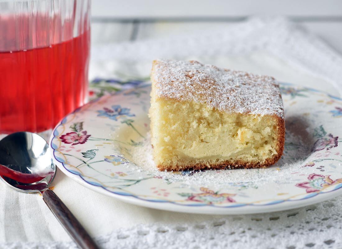Пирог с рикоттой и джемом (Tefal Cake Factory)