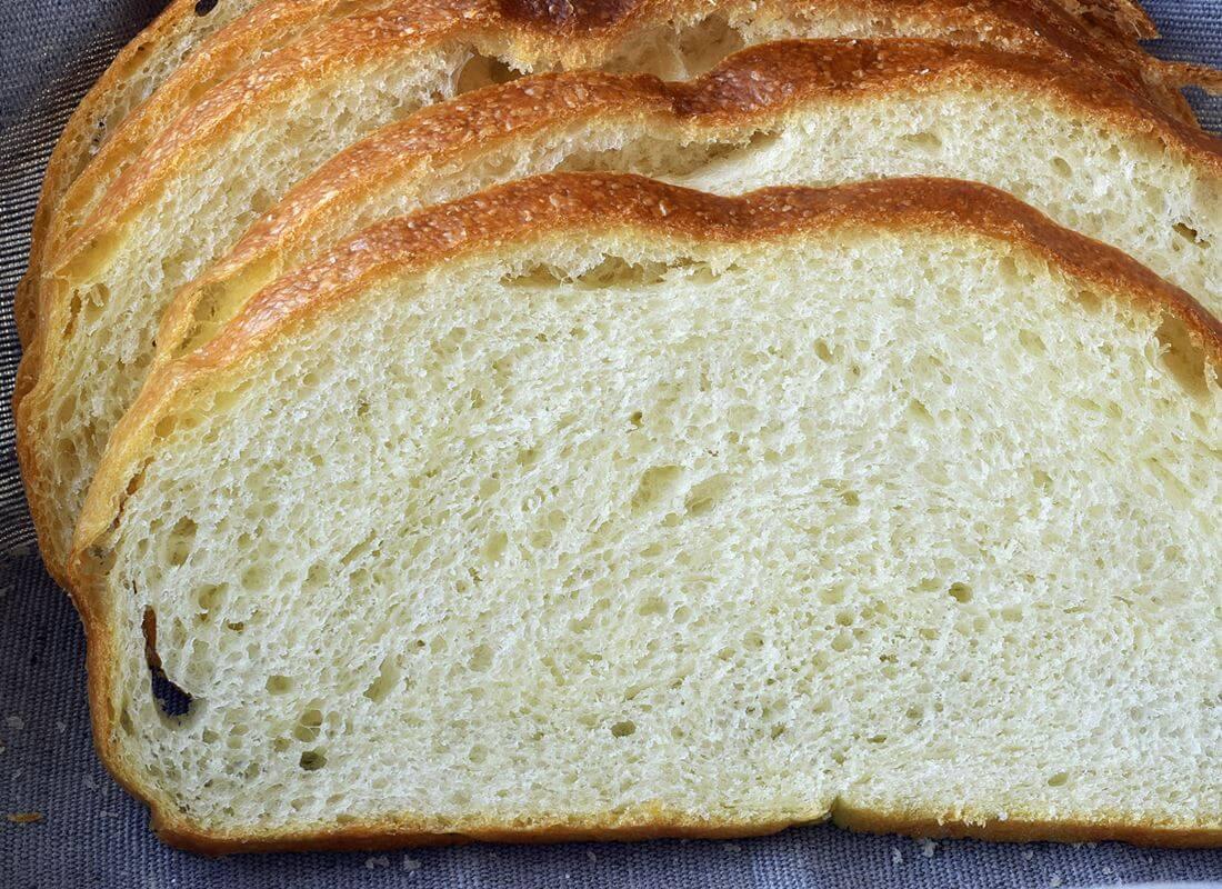 Хлеб пшеничный на яичных белках (Tefal Cake Factory, мультипечь)