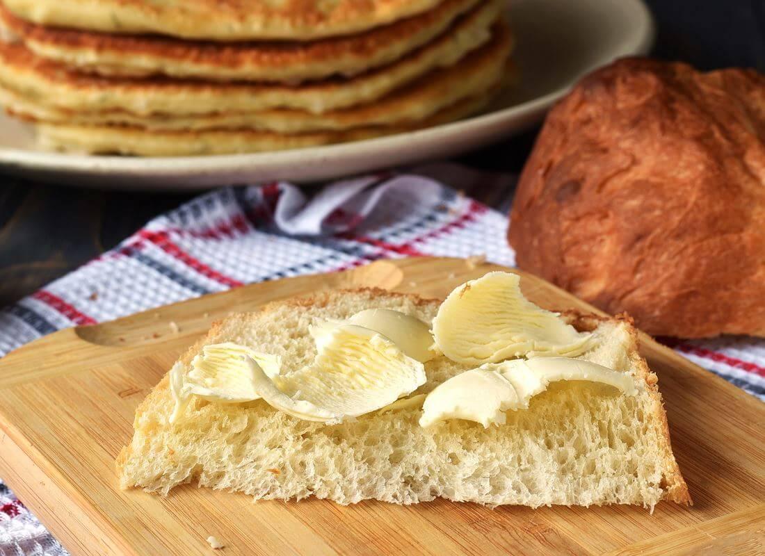 Хлеб на заварном креме