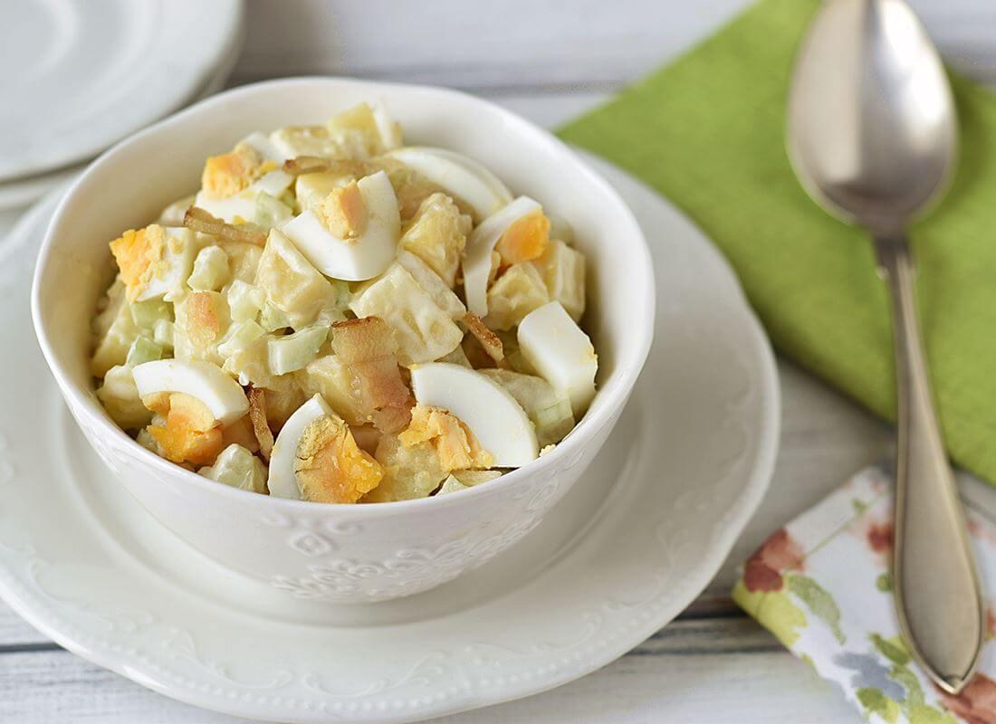 Американский картофельный салат (Best Ever Potato Salad)