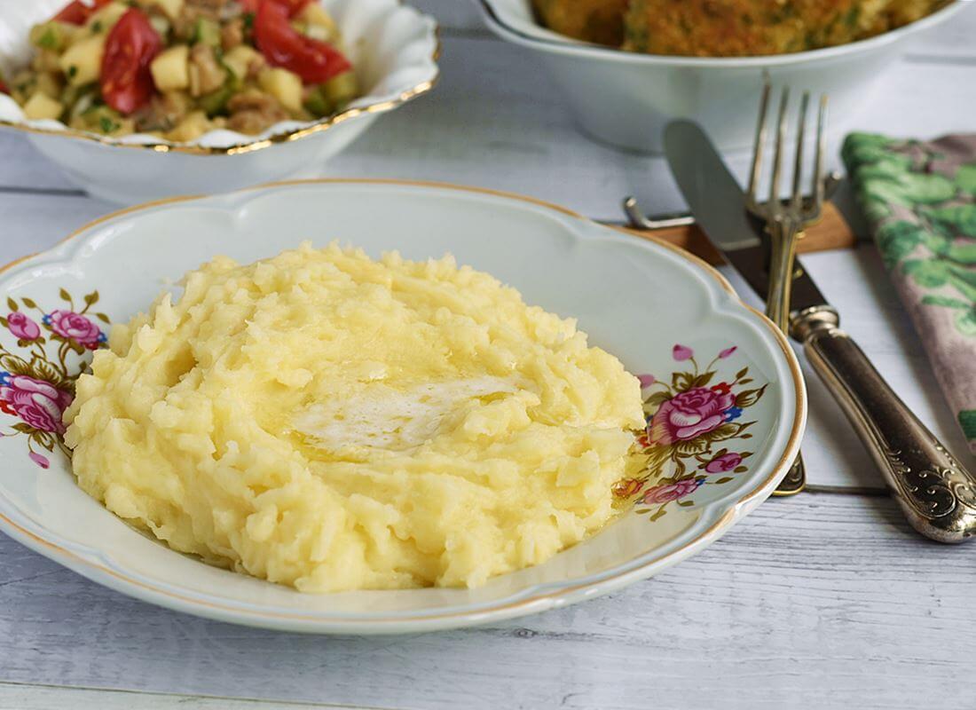 Картофельное пюре с сыром (Aligot)