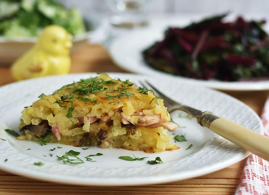 Картофельная запеканка (Дуровка) (Tortilla Chef Princess)