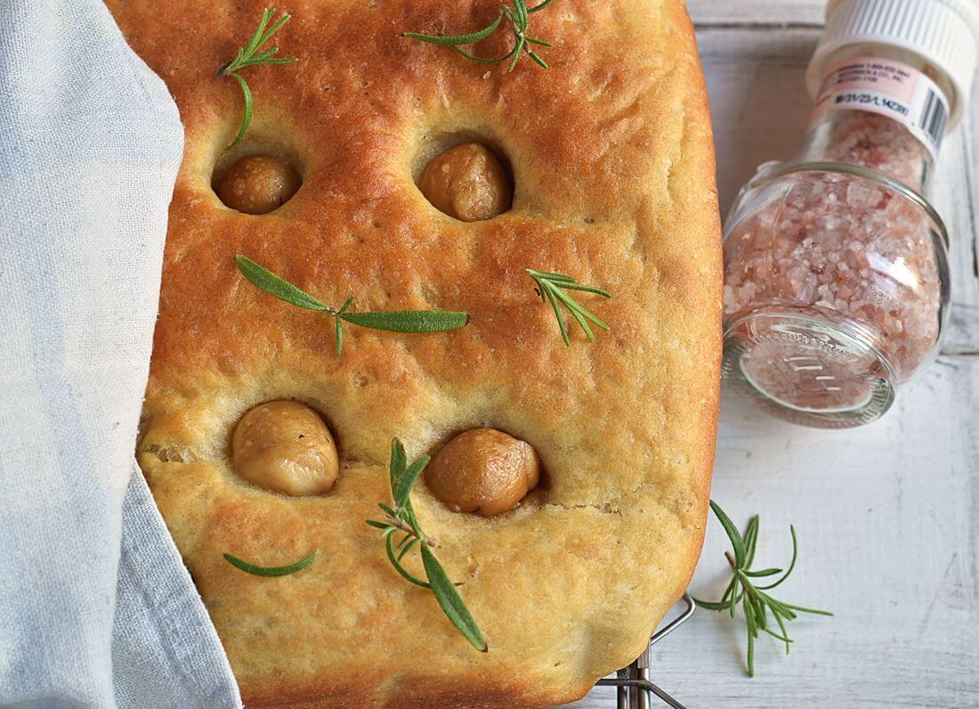 Фокачча картофельная (Tefal Cake Factory)