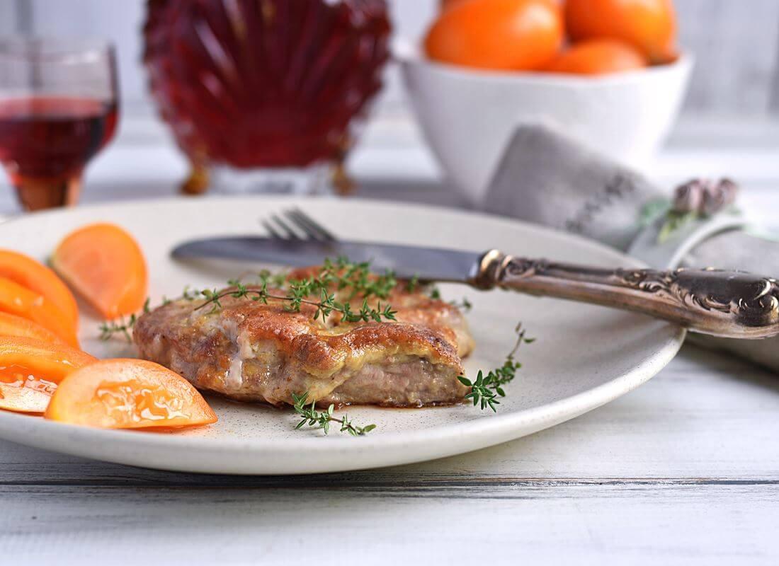 Мясо в яичном маринаде