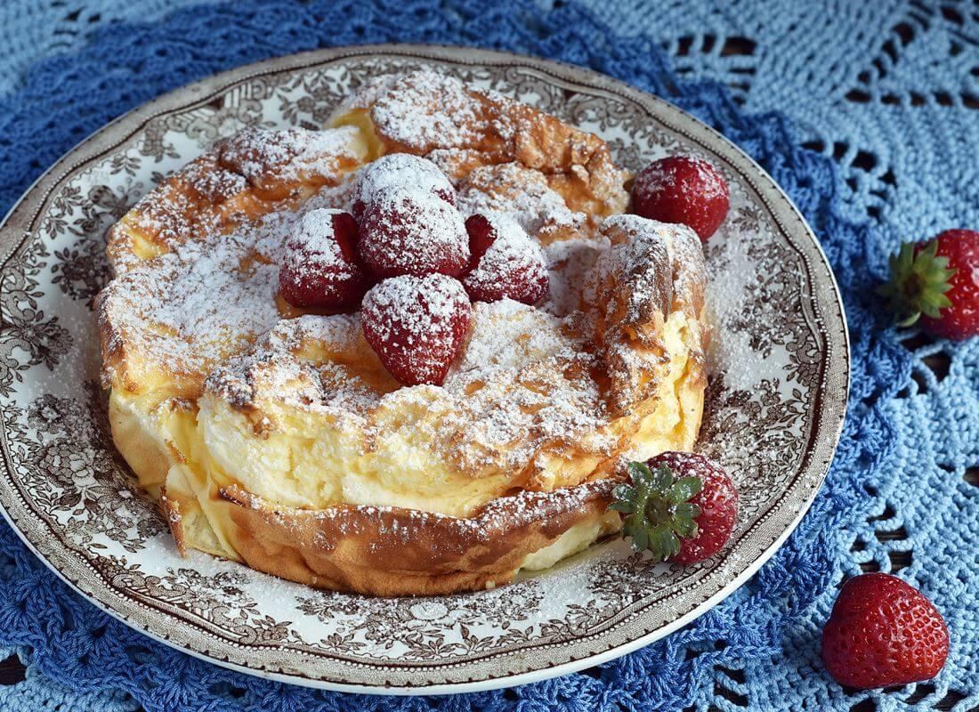 Нежный йогуртовый пирог